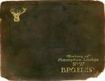History of Memphis Lodge No. 27 B.P.O. Elks, circa 1923