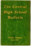 Central High School Bulletin, Memphis, January 1915