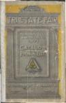 Tri-State Fair catalog, Memphis, 1909