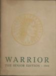 Central High School, The Warrior,  Memphis, 1944