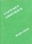 Snowden Junior High School, Memphis, yearbook, 1948-1949
