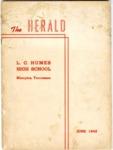 Humes High School Herald, Memphis, 1943