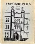 Humes High School Herald, Memphis, 1934