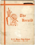 Humes High School Herald, Memphis, 1937