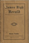 Humes High School Herald, Memphis, 1928