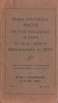 Some Historical Facts as was published in some Attala County newspapers in 1893