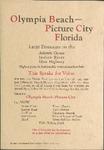 Olympia Beach-Picture City, Florida, circa 1923