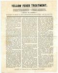 Yellow Fever Treatment, 1878