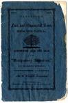 Montgomery Nurseries catalog, Alabama, 1860