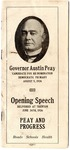 Governor Austin Peay, Opening Speech Delivered at Trenton, June 26th, 1926