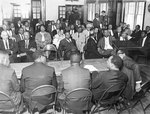 Conference with Dr. King, Memphis, 1968