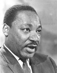 Dr. King in Memphis, 1968