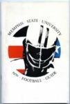 Memphis State University football media guide, 1970
