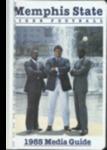 Memphis State University Football Media Guide, 1985
