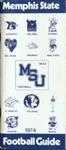 Memphis State University Football Media Guide, 1974