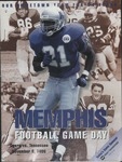 Memphis Football Game Day, Tigers vs. Tennessee, 1996