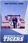 Memphis State University football media guide, 1968