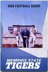 Memphis State University football media guide, 1968