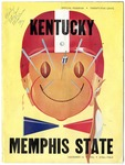 Memphis State College vs University of Kentucky football program, 1953