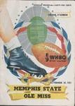 Memphis State College vs University of Mississippi football program, 1951