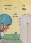 Memphis State College vs University of Mississippi football program, 1954