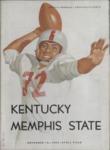 Memphis State College vs University of Kentucky football program, 1954