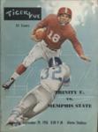 Memphis State College vs Trinity University football program, 1956