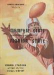Memphis State University vs Florida State University football program, 1959