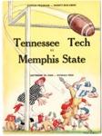Memphis State University vs Tennessee Polytechnic Institute football program, 1960