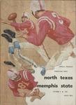 Memphis State University vs North Texas State College football program, 1960