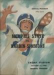 Memphis State University vs Hardin-Simmons University football program, 1960