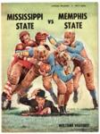 Memphis State University vs Mississippi State University football program, 1960