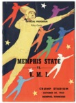 Memphis State University vs Virginia Military Institute football program, 1960