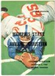 Memphis State University vs Abilene Christian College football program, 1960