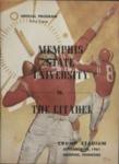 Memphis State University vs The Citadel football program, 1961