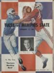 Memphis State University vs University of Tulsa football program, 1961