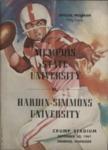 Memphis State University vs Hardin-Simmons University football program, 1961