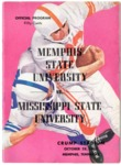 Memphis State University vs Mississippi State University football program, 1961