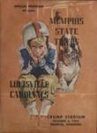 Memphis State University vs University of Louisville football program, 1962