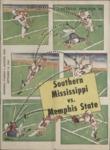 Memphis State University vs University of Southern Mississippi football program, 1963