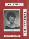 Memphis State University vs University of Louisville football program, 1963