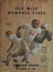 Memphis State University vs University of Mississippi football program, 1964