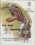 Memphis State University vs University of Mississippi football program, 1967