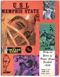 Memphis State University vs University of Southwestern Louisiana football program, 1973