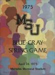 Memphis State University Blue-Gray Spring football program, 1975