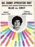 Memphis State University Blue-Gray Spring football program, 1978