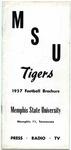 Memphis State University football media guide, 1957
