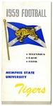 Memphis State University football media guide, 1959