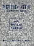 Memphis State University football media guide, 1961
