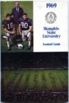 Memphis State University football media guide, 1969